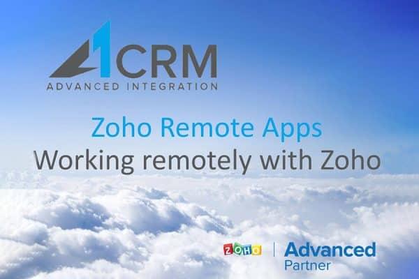 Zoho remote apps
