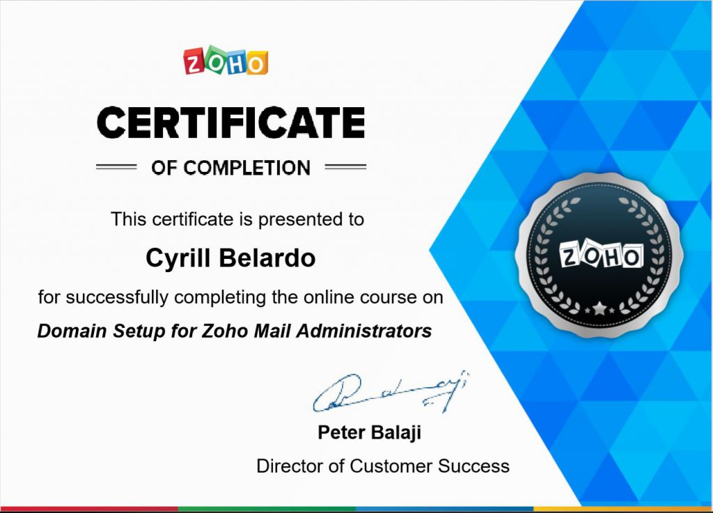 zoho contact manager