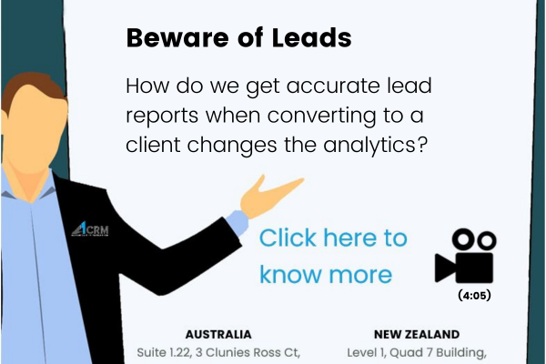 Tips & Tricks-Beware of Leads
