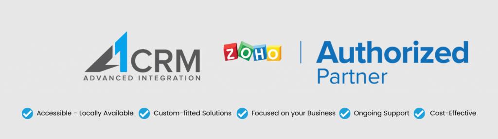 Zoho Authorised Partner A1CRM