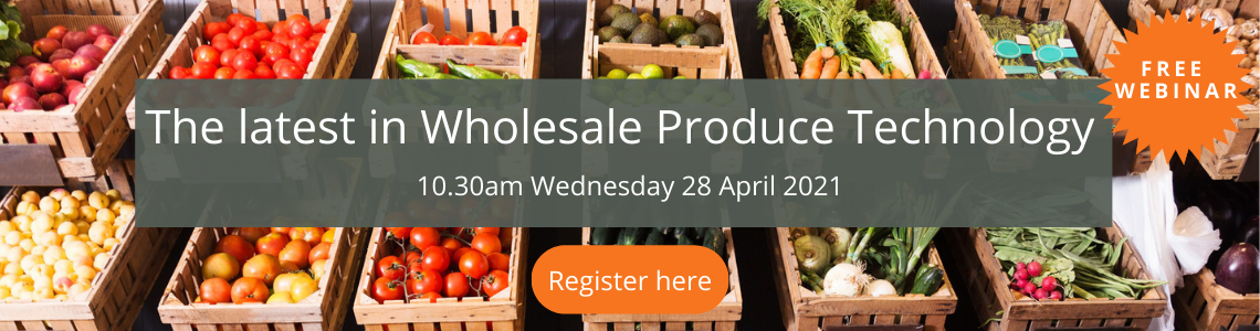 the latest in wholesale produce technology
