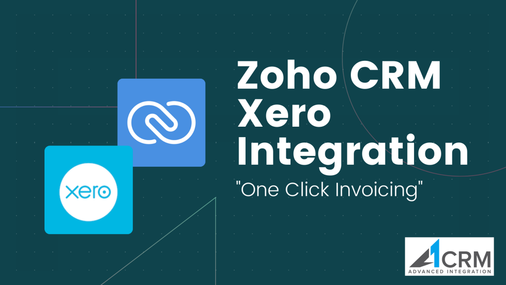 Zoho CRM Xero Integration
