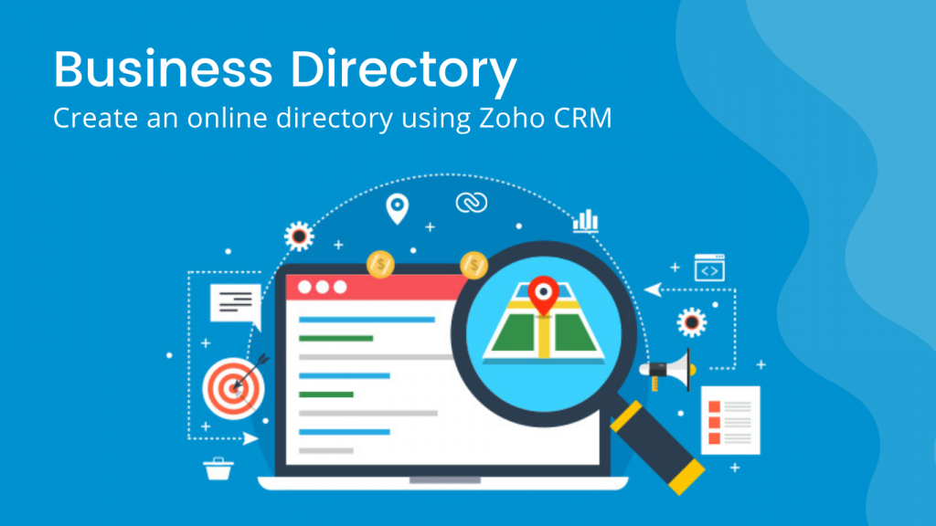 online directory zoho crm