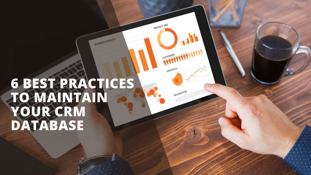 CRM database best practices