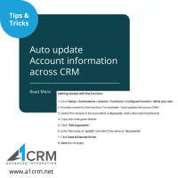 Auto update account
