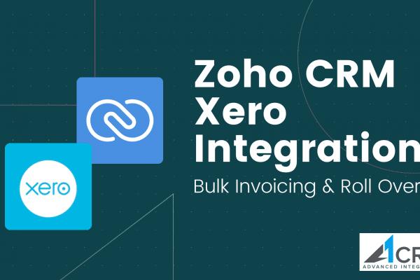 Zoho Xero CRM integration